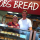 Louise and Robert Hyden owners of the new COBS Bread bakery in Stamford.