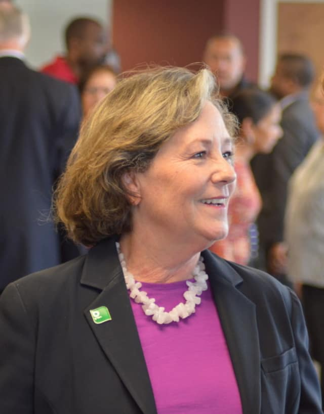 Mary-Jane Foster announced her tax plan if elected mayor of Bridgeport.