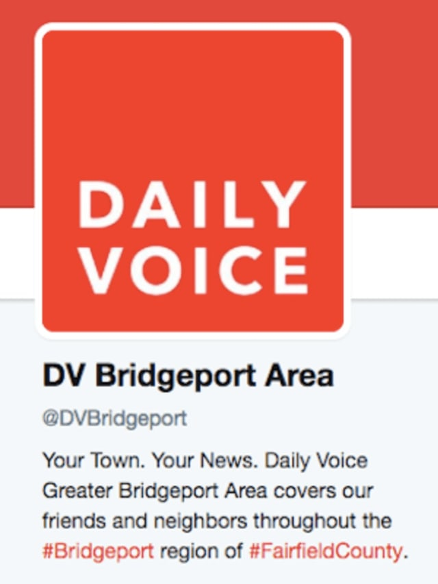 Follow us on Twitter at @DVBridgeport for the latest news from the Greater Bridgeport Area.