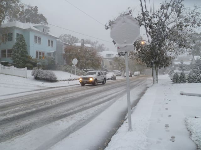 History suggests a white Christmas in Fairfield isn't very common.