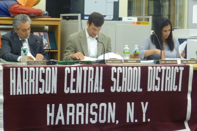 Members of the Harrison School Board are expected to announce the rescheduled school days from Hurricane Sandy at Wednesday night's meeting.