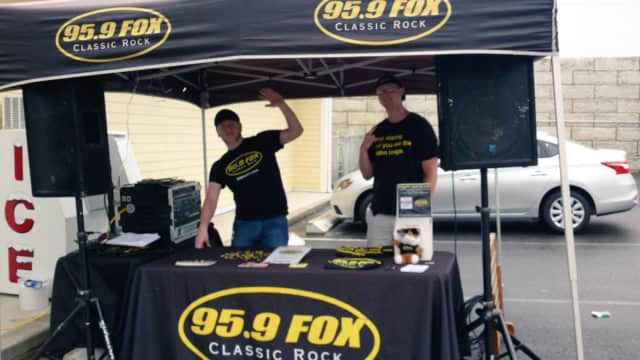 The guys from Fairfield's Classic Rock station, 95.9 The Fox, will be on hand at the Wheels Customer Appreciation event.