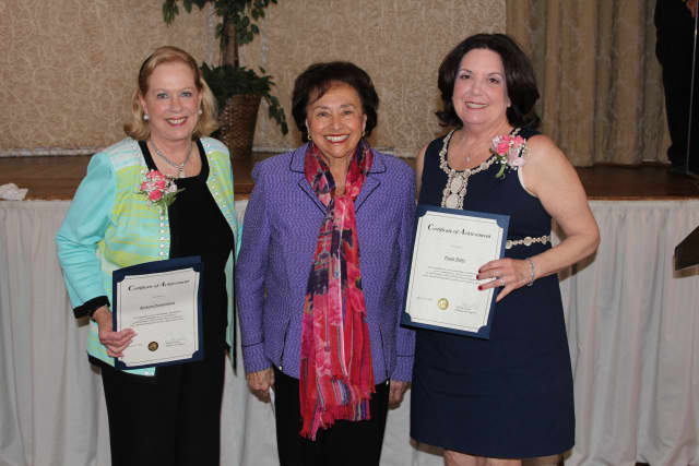 The Woman's Club of White Plains Foundation had its annual luncheon and fashion show on April 11.