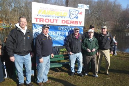 The Fairfield Police Athletic League will hold its annual Trout Derby on Saturday, April 12.
