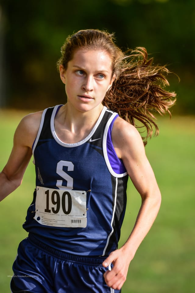 Hannah DeBalsi of Staples is the No. 1 runner in the nation in a preseason cross country ranking by a national website.
